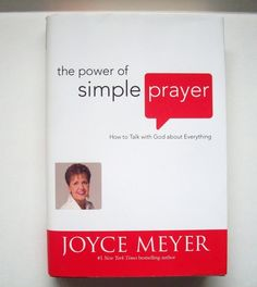 The Power of Simple Prayer ~Joyce Meyer Book at MrsDinkerson's