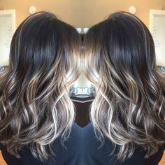 45 medium to long hair styles ombre balayage hairstyles for women 5 ~ Litledress 45 mittel bis Ombre Hair Color, Hair Color Balayage, Hair Highlights, Dark Brown Hair With Highlights Balayage, Blonde Highlights On Dark Hair Short, Balayage Hairstyle, Brown Hair Shades, Brown Hair Colors, Brunette Hair