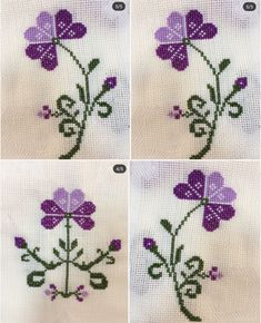 Cross Stitch Borders, Baby Knitting Patterns, Pansies, Hand Embroidery, Homemade, Crochet, Cross Stitch Embroidery, Knitted Pillows, Cross Stitch Pillow