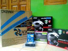 Bro Bambang, Spec : Intel Core i5 4690 | MSI H97 Gaming 3 | MSI R9 270X Gaming 2G | Corsair Vengeance Pro 8GB | Corsair CX600M | LG DVD-RW | Dazumba D-Vito 802