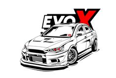 Fiverr freelancer will provide Illustration services and draw your car into cool detailed line art vector including Figures within 3 days Jdm Stickers, Mitsubishi Cars, Most Popular Cars, Car Accessories For Guys, Line Art Vector, Evo X, Car Vector, Nissan Gtr Skyline, Mitsubishi Lancer Evolution