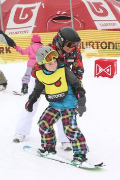 The Burton Mountain Festival, which takes place Feb. 14-16 at Boyne Highlands Resort in Harbor Springs, Michigan, features a Riglet Park to give kids as young as 3 a chance to try out snowboarding for free.