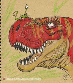 T-rex by marimoreno on deviantART