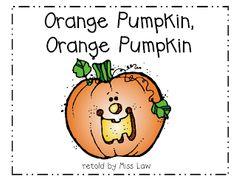 Orange Pumpkin, Orange Pumpkin