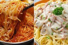 Top 5 cele mai gustoase rețete de paste, pe care trebuie să le încercați măcar o dată în viață - Bucatarul Pasta Carbonara, Top 5, Bologna, Bacon, Paste, Mai, Ethnic Recipes, Restaurant, Food