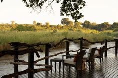 Lunch in the Bush- Lion Sands Game Reserve, South Africa
