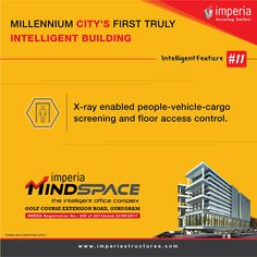MindSpace, Commercial office complex by Imperia Structures, is located at Sector Golf Course Extension Road,Gurgaon. Cctv Surveillance, Smart City, Real Estate Development, Access Control, Fiber Optic, Commercial, How To Apply, The Unit, How To Plan