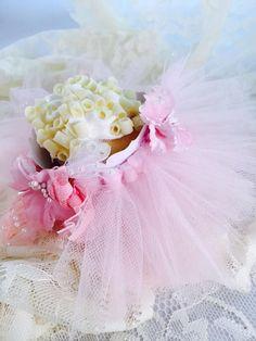 Ballerina Ballet Tutu Cupcake Holder by MemoryKeepsakeParty