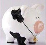 alcancias y regalos: originales y poco comunes Crafts For Girls, Arts And Crafts, Pig Bank, Personalized Piggy Bank, Pasta Flexible, Vintage Wood, Paper Mache, Pigs, Art Direction