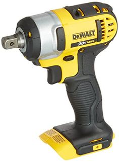 DEWALT DCF880B 20-volt Li-Ion 1/2-Inch Impact Wrench Kit with Detent Pin