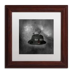 'Home Sweet Home' by Erik Brede Framed Graphic Art