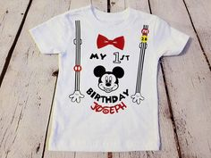 Minnie Mouse beb/é-ni/ñas Camiseta De Manga Corta
