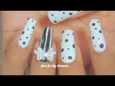 nail art bianco e nero  #nailart #biancoenero
