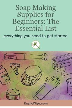 Diy Soaps, Homemade Soaps, Soap Making Supplies, Diy Supplies, Candle Making For Beginners, Handmade Soap Recipes, Soap Making Process, Farm Business, Herbal Tinctures