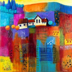 Ro Bruhn Art: Paintings and pages