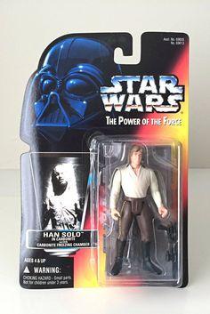 Vintage Star Wars Han Solo in Carbonite Action Figure.