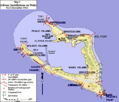 Map: Wake Island My daughter, Diane I landed here in Dec, 1961 on our way to join our daddy in Japan. Wake Island, Island Map, Island Life, Norfolk Island, Diego Garcia, Before Marriage, St Helena, Marshall Islands, Solomon Islands