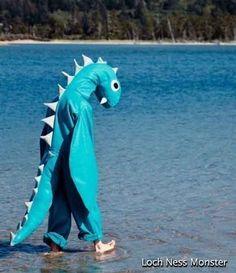 Loch Ness Monster Costume via Regretsy - LOL