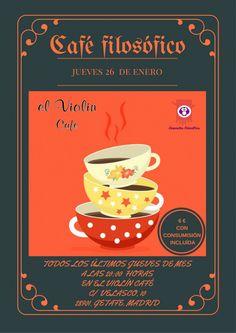 """Café filosófico en """"El Violín"""":"""