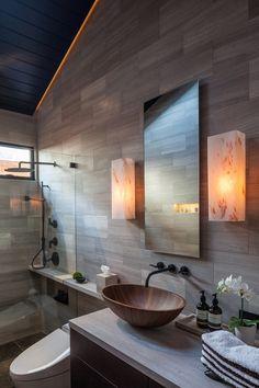 Asian bathroom design: 45 Inspirational ideas to soak up - dezdemonhomedecor.top - Asian bathroom design: 45 Inspirational ideas to soak up - Bad Inspiration, Bathroom Design Inspiration, Modern Bathroom Design, Bathroom Interior Design, Design Ideas, Bathroom Designs, Bath Design, Modern Design, Zen Design
