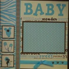 Baby Scrapbook Layouts - Bing Images