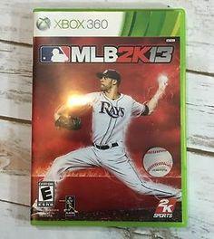 Microsoft Xbox360 MLB2K13 Video Game MLB 2K13 2013 Baseball | eBay