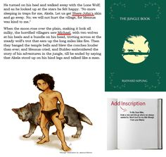Let your child get lost in this classic fantasy adventure of the Jungle Book. Order Personalized books with their names as the famous character! Visit our page today. Personalized Books For Kids, Look At The Stars, Lone Wolf, Inspiration For Kids, Books To Read, Free Shipping, One Man Wolf Pack, Reading Lists