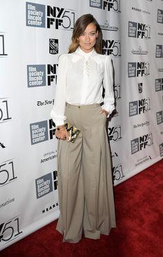 "Olivia Wilde - Closing Night Gala Presentation Of ""Her"" - Red Carpet - The 51st New York Film Festival"
