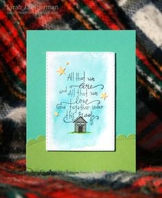 Love this card created by Sarah Moerman using New Simon Says Stamp from the Create Joy release.