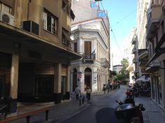 Athens, the historical centre