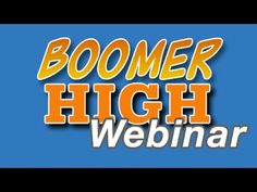 """Boomer High Weekly Webinar - Jan 14, 2014 - Patrick Batty (in Canada) & Marion Herbertson (in the UK) share how they grew from blogging to jointly hosting Google Hangouts for Baby Boomers and are now hosting a """"syndicated"""" chat for Boomers (seniors) focused on teaching how to make money on the internet. (They are using a system called iPAS which they mention)."""