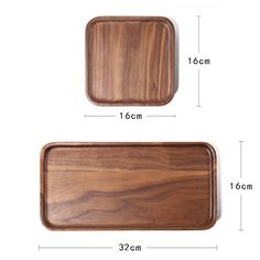 Walnut Wood Tray Wooden Tray Wooden plates Tea Tray Wood Spoon, Wood Tray, Wood Bowls, Wooden Plates, Wooden Tables, Cooking Spoon, Reclaimed Wood Projects, Tea Tray, Teapots And Cups