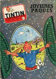 Journal de TINTIN édition Française N° 443 du 18 Avril 1957
