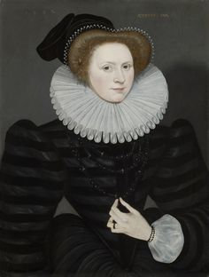 An Unknown Lady | The Weiss Gallery  English School  An Unknown Lady  Painted 1582  Oil on panel: 26 5/16 x 19 7/8 inches, 66.8 x 50.5 cm