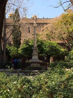 Jardins de Rubió i Lluch - El Raval - Barcelona, Cataluña