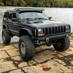 & # 97 - & # 01 Jeep Cherokee XJ - Off the road again - Cars Jeep Cherokee Sport, Jeep Grand Cherokee, Cherokee 4x4, Jeep Sport, Jeep Xj Mods, Jeep 4x4, Jeep Truck, Truck Mods, Jeep Willys