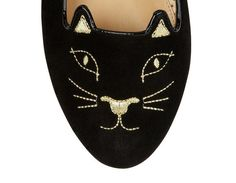 Kitty Flats | Luxury Designer Shoes & Handbags | Charlotte Olympia