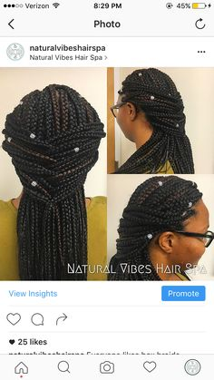Box braids also protect your natural hair and offer the benefits ...
