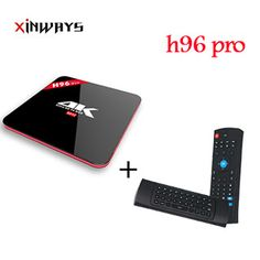h96 pro Smart TV Box Amlogic S912 Quad Core 64Bit 2GB RAM 16GB ROM Android 6.0 4K x 2K 2.4GHz WiFi Box Android TV Box (32803696694)  SEE MORE  #SuperDeals