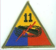 11th Armored Division Army Military Patch by CantonCollectables, $7.00