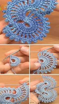 Crochet Tape Lace Tutorial 5 part 1 of 2 Crochet MotifsIf you like crochet lace patterns, than you'll love the motif I'm sharing today. The tape lace motif is very unique and you can customize it as you want.Two Color Lace Crochet Border Crochet Motif Patterns, Crochet Lace Edging, Lace Patterns, Crochet Designs, Crochet Flowers, Knitting Patterns, Knit Lace, Lace Scarf, Crochet Squares