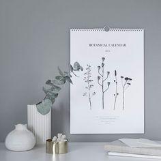 RK Design Botanical kalenteri 2016 | Paperitavara | Sisustus | Finnish Design Shop
