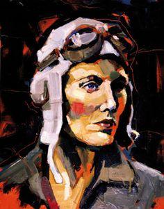Beryl Markham, british born Kenyan pilot and adventuress