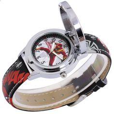 f26f3fc51 Marvel Avengers Úžasný Ultimate Spider Man Teen Boy Hero Dream Pupil Cool hodinky  Dětské Disney studentské