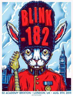 Blink 182 London UK x Ian Williams