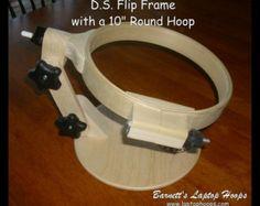 BARNETT'S 16 inch Laptop Hoop Frame is by BarnettsHoopsOnEtsy