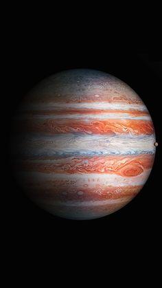 Jupiter Planet - Planet Jupiter Facts And Information (Documentary) Jupiter From Earth, Jupiter Planet, Jupiter Wallpaper, Planets Wallpaper, Space Planets, Space And Astronomy, Apple Wallpaper, Iphone Wallpaper, Jupiter Facts