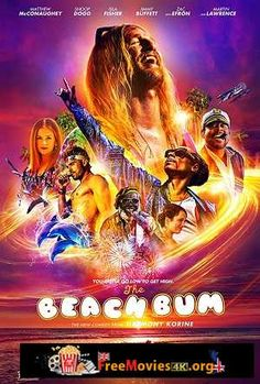 The Beach Bum is a movie starring Matthew McConaughey, Snoop Dogg, and Isla Fisher. A rebellious stoner named Moondog lives life by his own rules. Isla Fisher, Movies 2019, Hd Movies, Movies To Watch, Movies Online, Snoop Dogg, Matthew Mcconaughey, Jonah Hill, Pikachu
