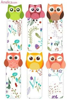 33 Trendy Diy Paper Bookmarks Coloring Pages Felt Crafts, Diy And Crafts, Diy Marque Page, Diy Paper, Paper Crafts, Owl Classroom, Paper Bookmarks, Bookmark Craft, Printable Planner Stickers
