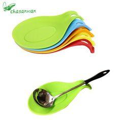 1 St Keuken Accessoires Kleine Siliconen Lepel Mat, Spatel Europese Stijl Lepel Pad voor Keuken Gadget Keuken Goederen Keuken gereedschap